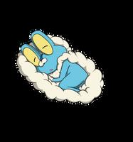 Frubble Pillow by Akida411searcher