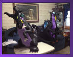 Giant Maleficent Dragon Plushes