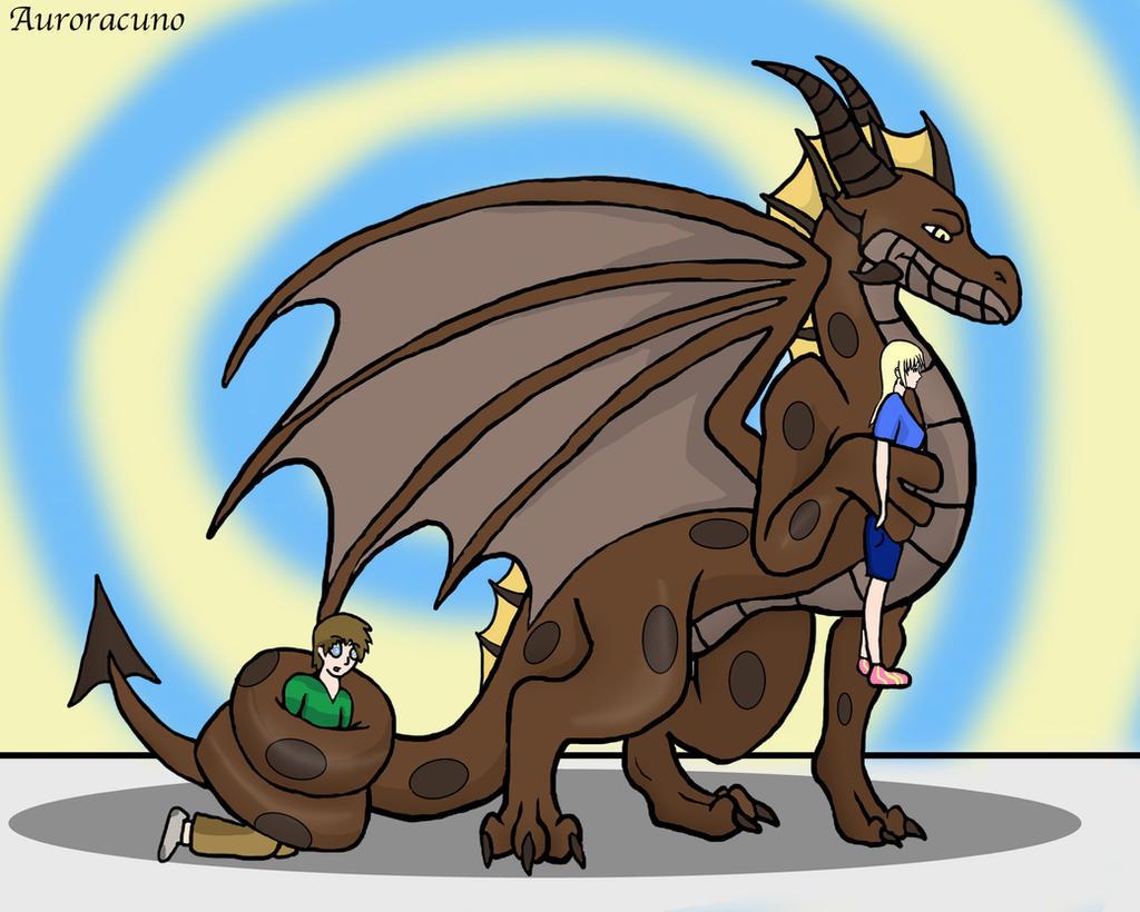Kaa Dragon S New Servants V3 By Auroracuno On Deviantart