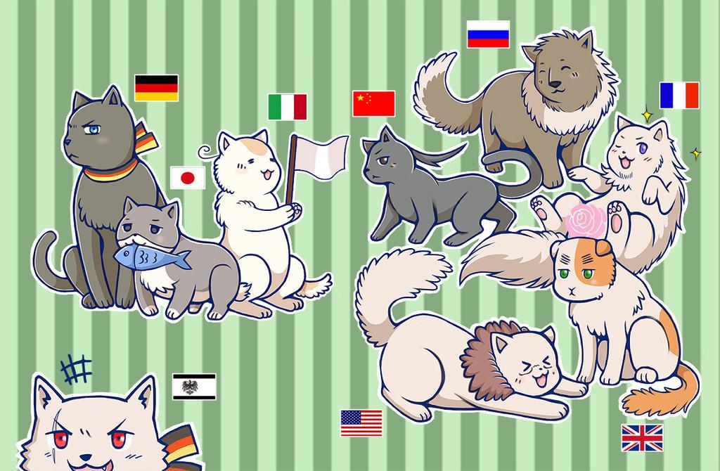 Hetalia Cat Breeds