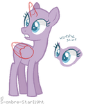 horse baseeee by peechpunk