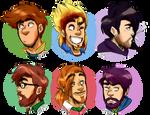 beardy boys