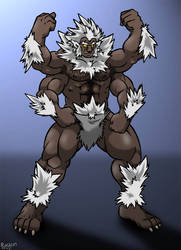 Wolf Guy by Rackun