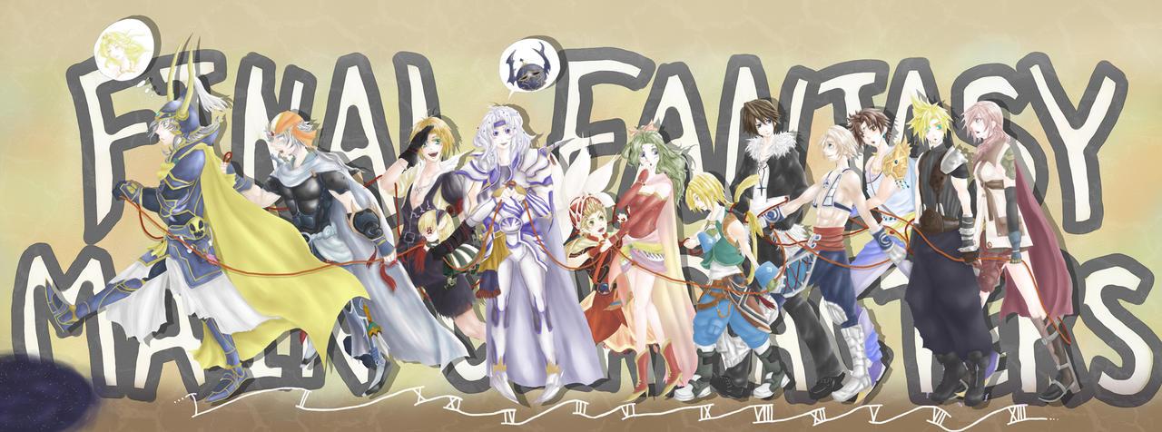 Dissidia Final Fantasy +2 by tokinokoe