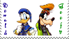 Donald and Goofy Stamp by CelticEclipse