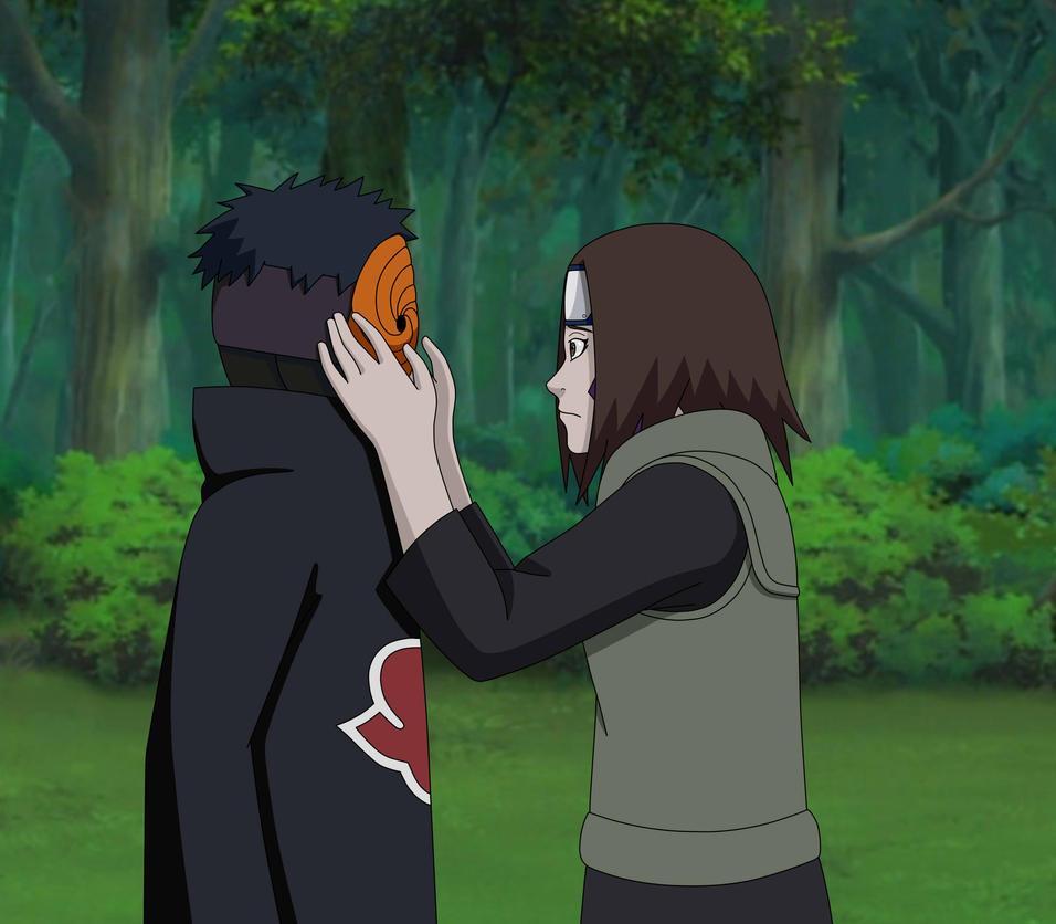 Uchiha Obito Mask Behind The Mask...