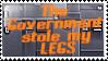 stAmp- GovernmentStoleMyLegs by Bunni89
