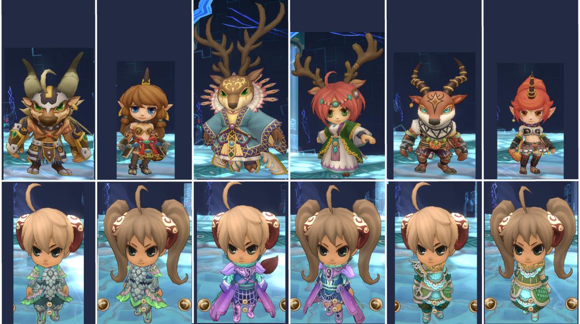 Spirit Tales Online - Gold Kirin Tribe by Bunni89