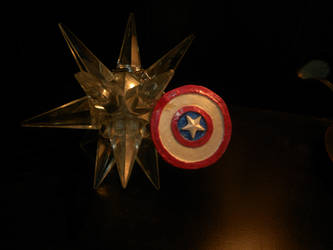 Captain America Shield Keychain by SSHYatenKou
