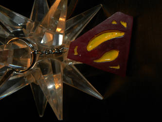 Superman Keychain by SSHYatenKou