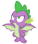 Spike have wings (Vector)