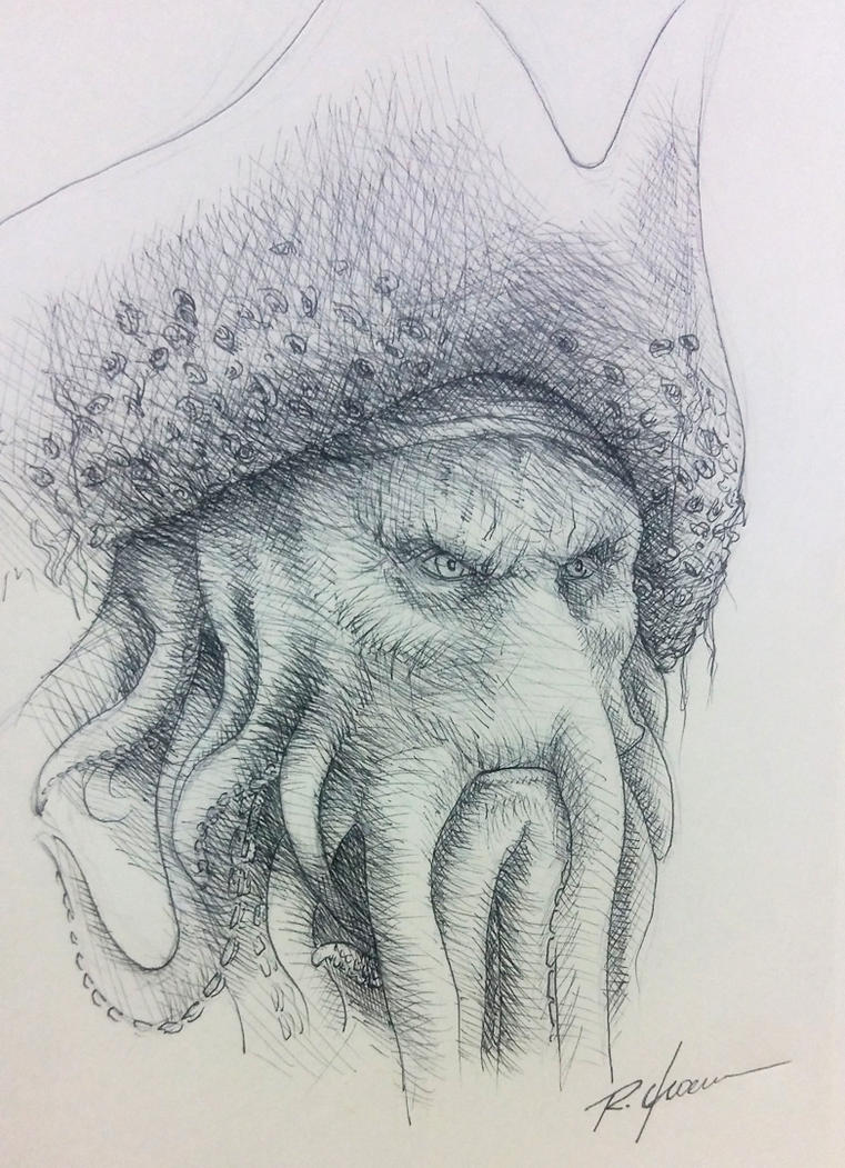 Davy Jones by rchaem