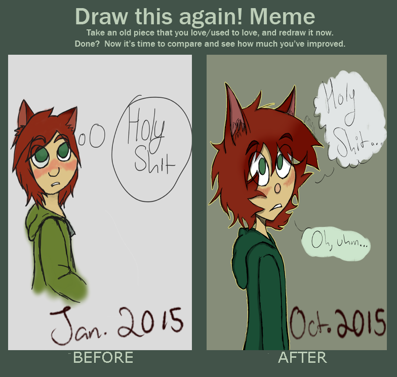 draw this again meme -- krissy by MagicCanbeFound