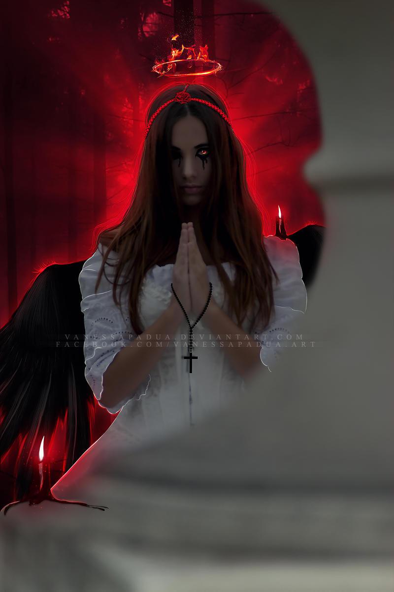 Fallen Angel -666- by VanessaPadua