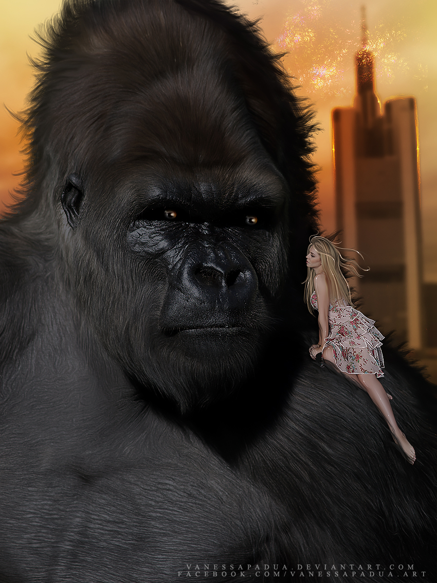 King Kong by VanessaPadua