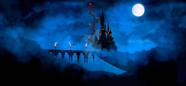 Castle Dracula by VanessaPadua