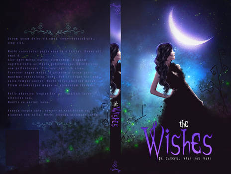 Book Cover - The Wishes (for sale)
