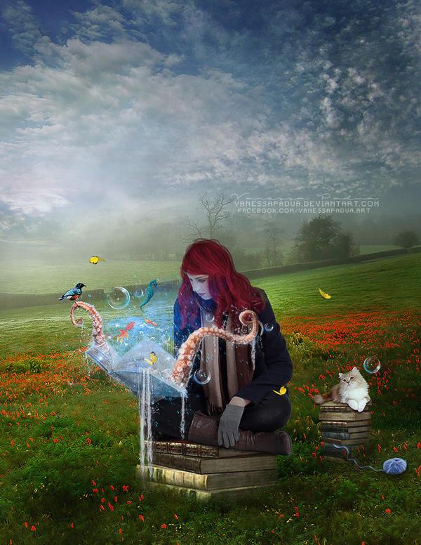 Book Fantasy by VanessaPadua
