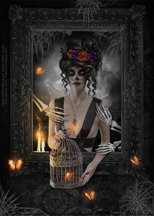 Dia de los Muertos by VanessaPadua