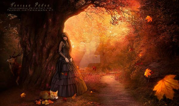 Autumn breeze by VanessaPadua