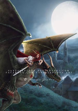 Dragon knight by VanessaPadua