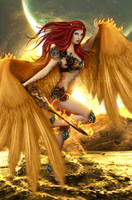 Protector of the sky by VanessaPadua
