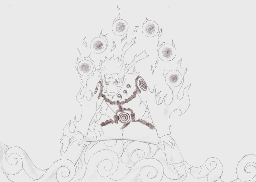 Naruto Uzumaki by Kello7