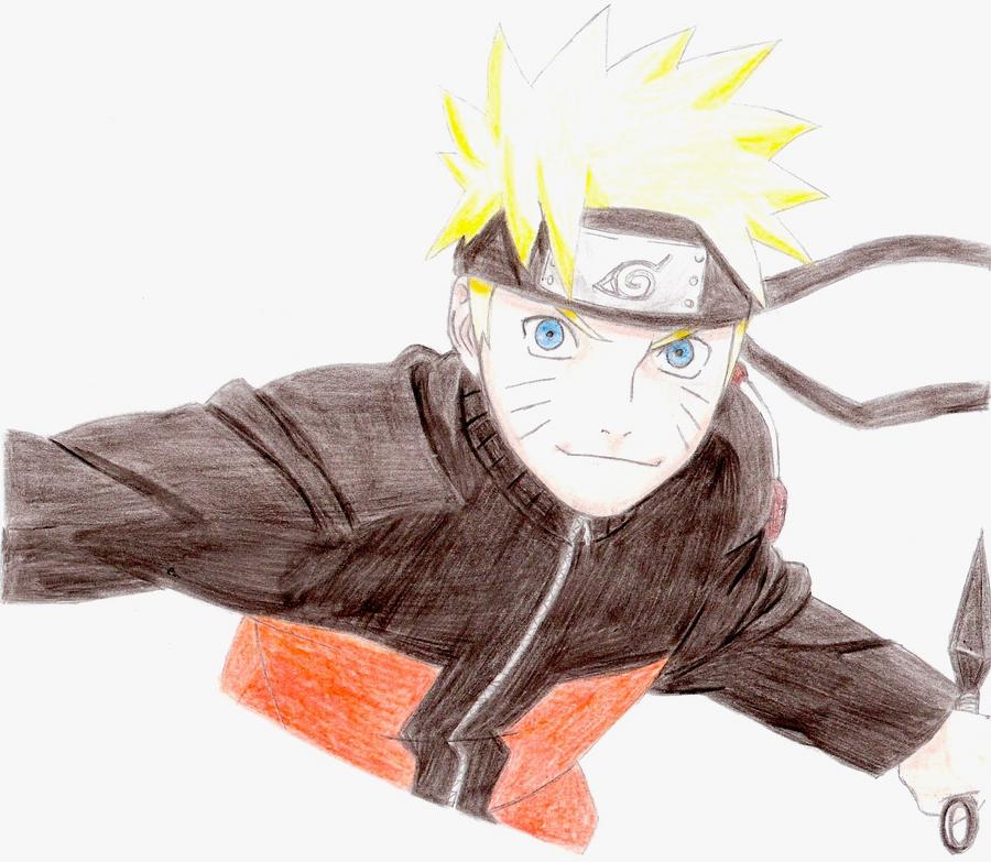 Colored Naruto by Kello7