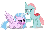 (MLP Vector) Silversteam and Ocellus