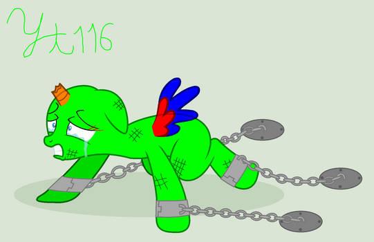 Sad Pony Base 2