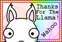 Thanks 4 Llama by SazLeigh