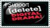 Delete Digital Drama by SazLeigh