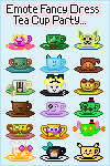 Emote Fancy Dress Tea Cup Party Project ... Closed by SazLeigh