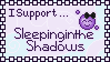 I Support SleepingintheShadows Stamp by SazLeigh