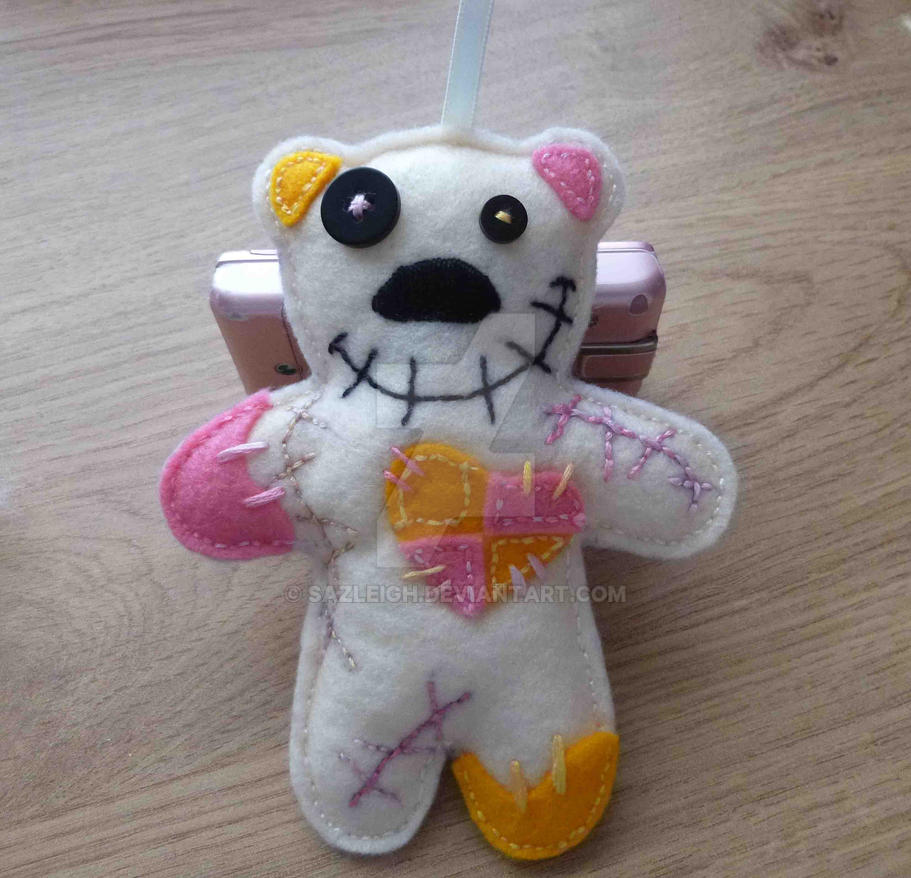Voodoo Batten Bear by SazLeigh
