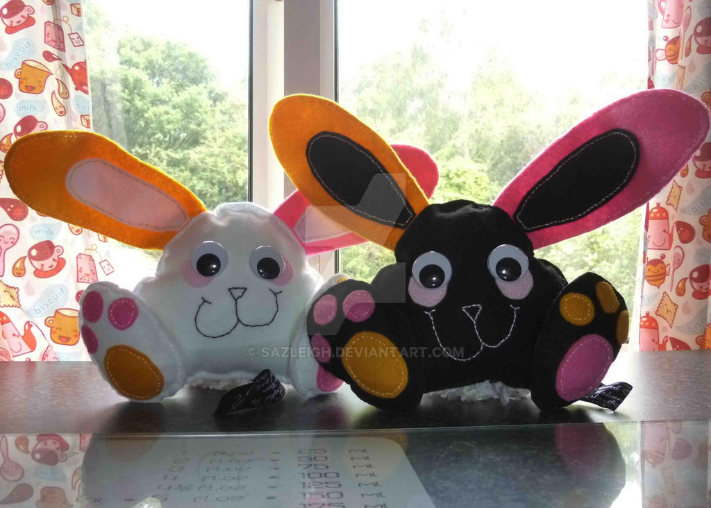 Batten Bunny's by SazLeigh