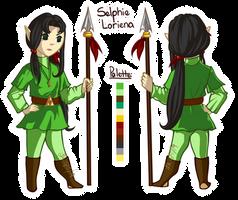 LoZ ST OC - Selphie Loriena