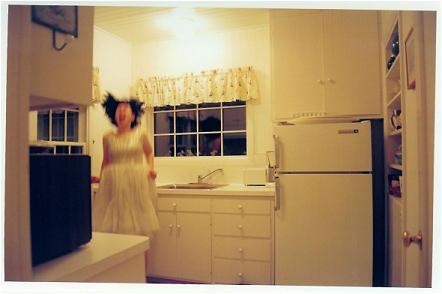 Self-Portrait In Kitchen by anaveragemaude