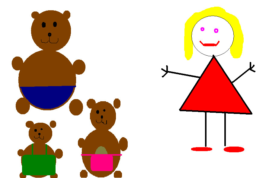 goldilocks and the three bears by blonde mobile nz on deviantart rh blonde mobile nz deviantart com goldilocks and the three bears clipart free