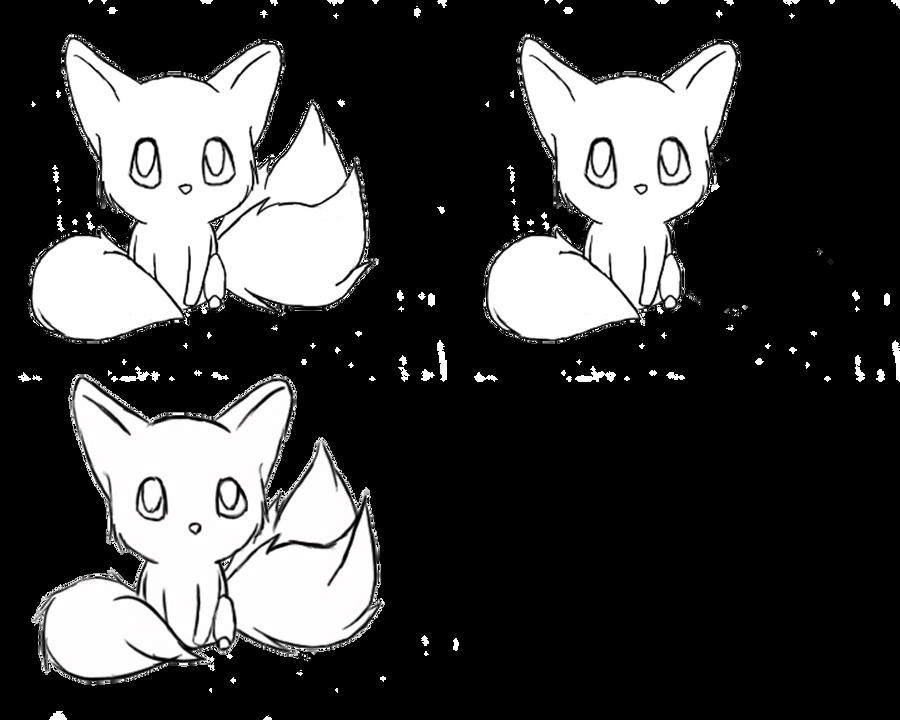 Line Art Fox : Fox line art by gummiehz on deviantart