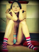 Retro teen girl by saved1seth