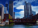 On the river - Chicago