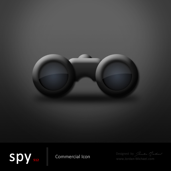 Spy Commercial Icon by jrdnG