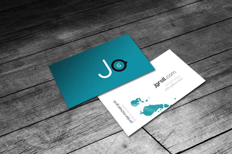 business cards by jrdnG
