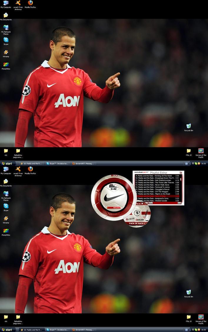 The Red Desktop by Derogatorylt