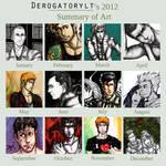 Art of Year 2012