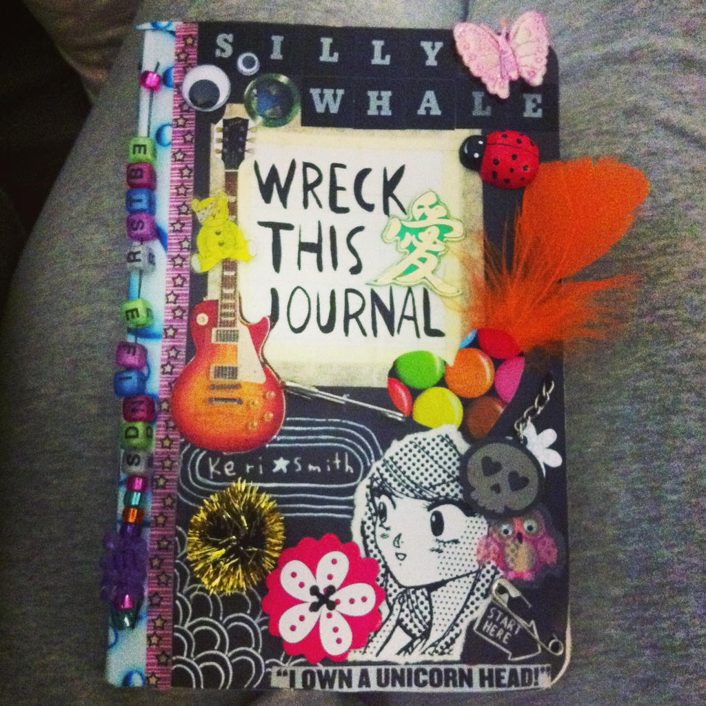 Wreck This Journal Cover Tumblr Viewing Gallery