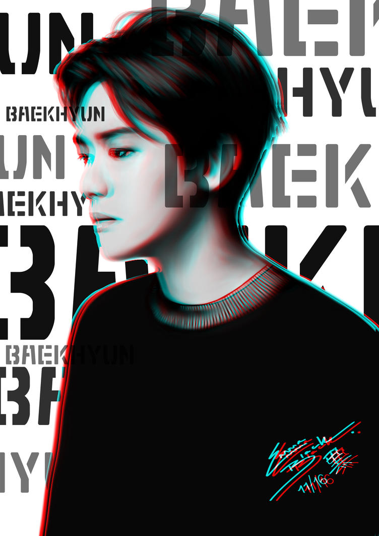 Baekhyun (edit version) by under-the-horizon