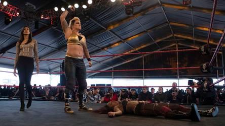 Mercedes Blaze Unconscious (NXT UK 07/03/2019)