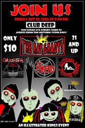 a flyer for deep